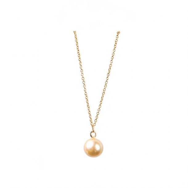 LIZA CASTRO Golden South Sea Pearl Pendant