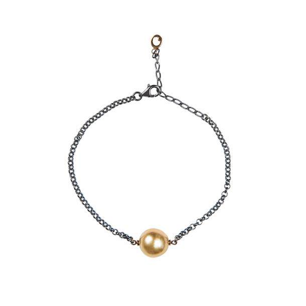 LIZA CASTRO Golden South Sea Pearl Bracelet